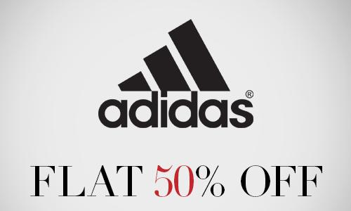 50 off at adidas
