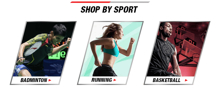 Shop for Li-Ning Badminton, Running and Basketball products