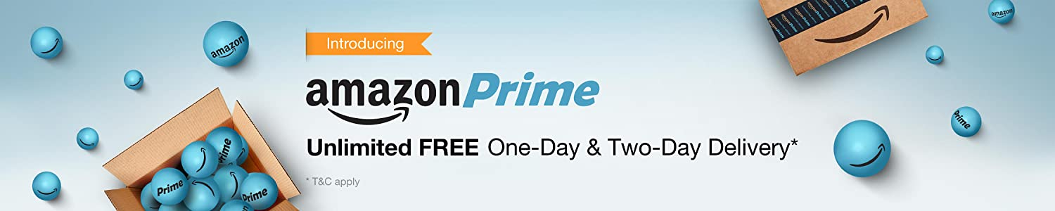 Amazon Prime is here in India! FREE One-Day & Two-Day Delivery