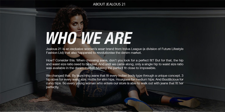 JEALOUS 21 STORE: MORE ABOUT THE BRAND
