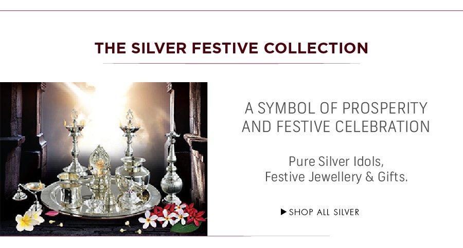 Joyalukkas: Silver Festive Collection
