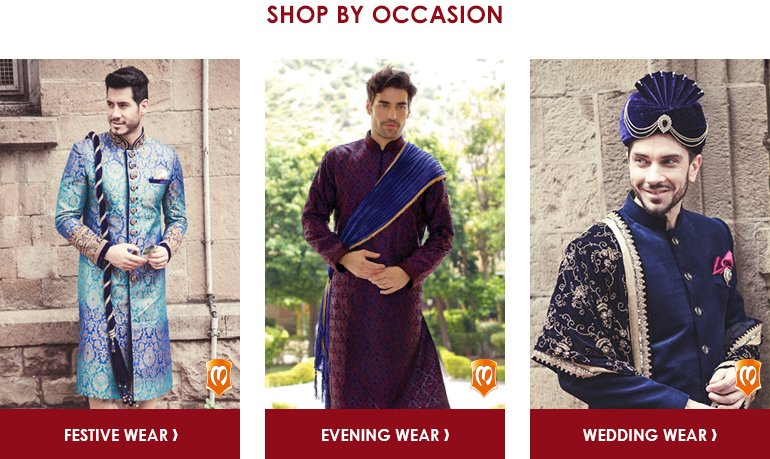 Manyavar: Shop by Occassion