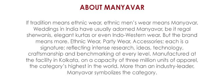 About Manyavar