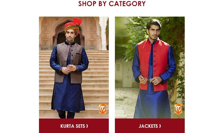 Manyavar: Shop by Category