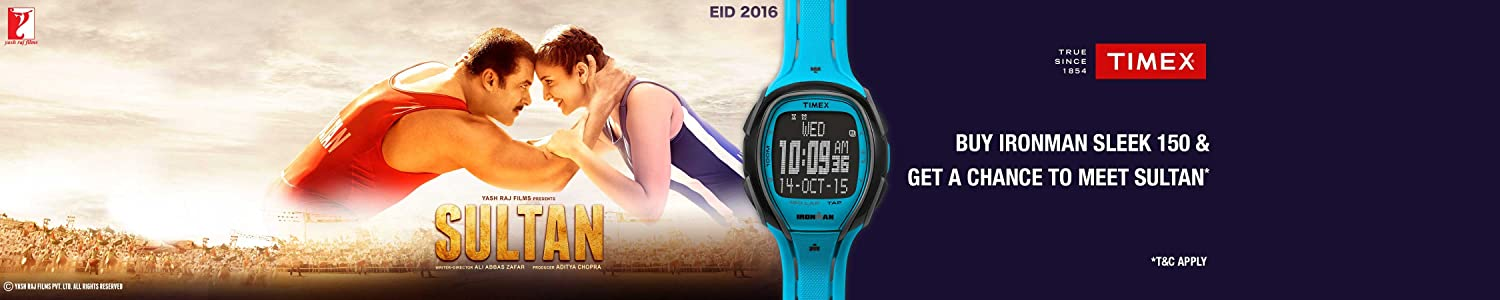 Buy A Timex Ironman Sleek 150 Watch and get a chance to meet Sultan