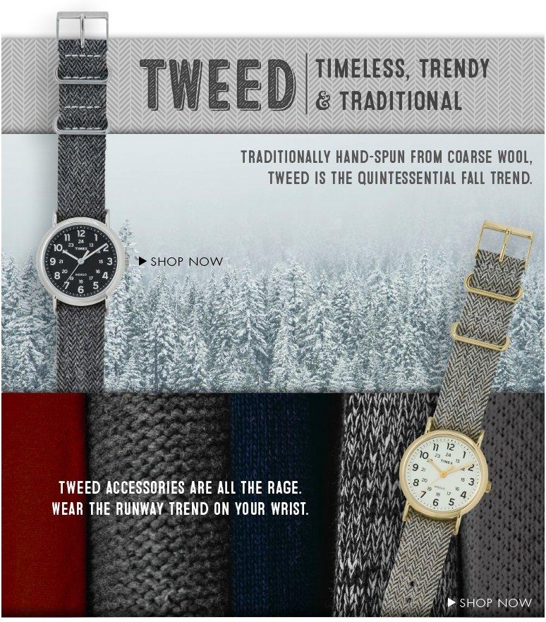 TIMEX WEEKENDER: TWEED