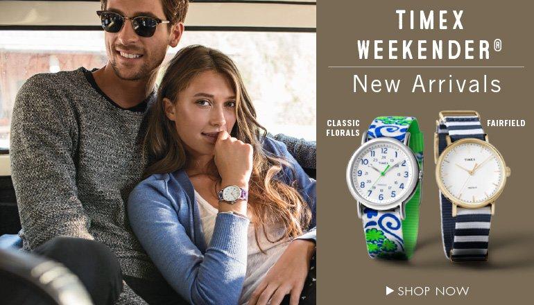 New Timex Weekender