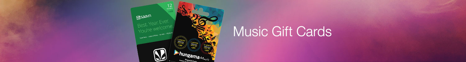 Music Gift Cards