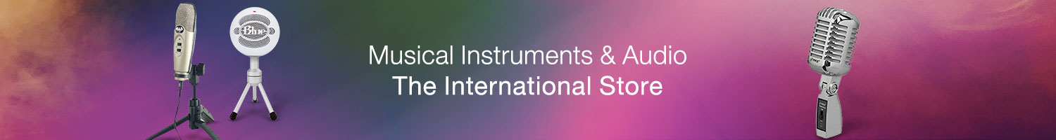 Musical Instruments and Audio - The International Store