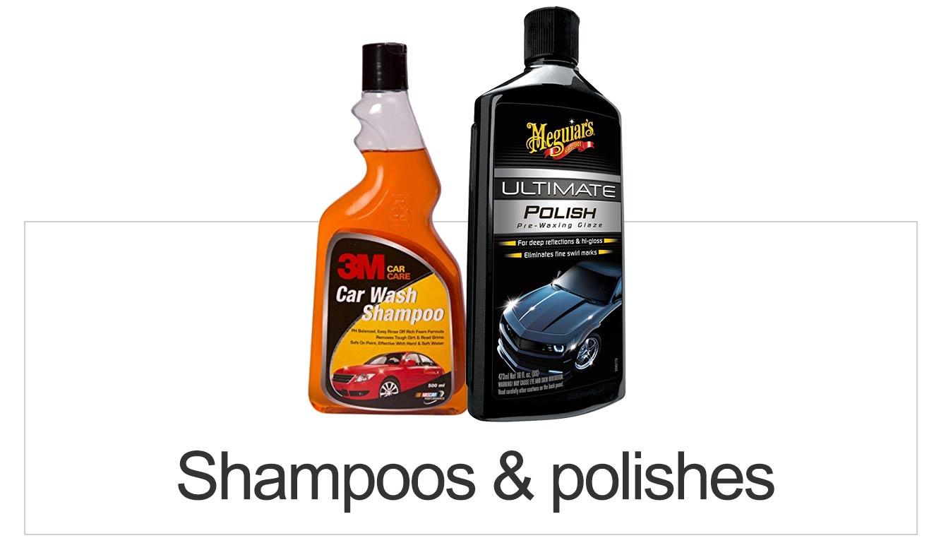 Polishes & Shampoos