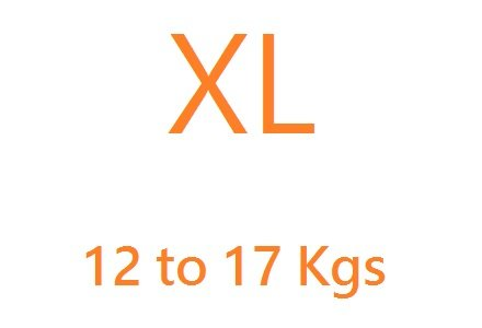 Extra Large (12-17kgs)