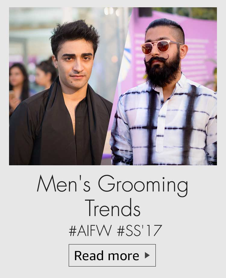 grooming tyrends for men, aifw ss 17 grooming trends, men's grooming trends