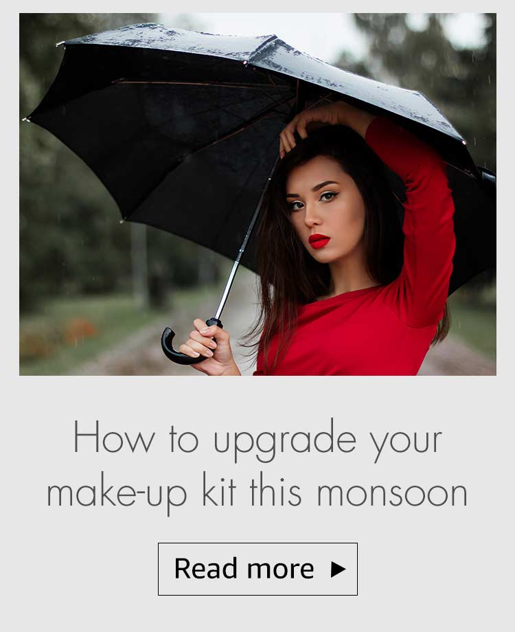 monsoon make up tips