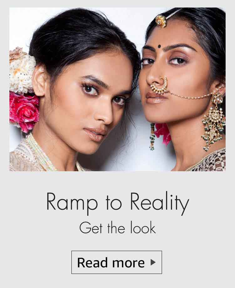 ramp to reality, beauty looks from the ramp, makeup trends, summer makeup trends, bridal makeup trends, makeup trends, ICW 2016, indian couture week 2016