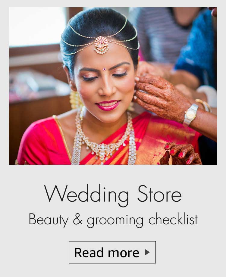 wedding store, amazon wedding store, wedding checklist, bridal checklist, grooming checklist, makeup every bride should buy, skincare for bride, skincare for wedding, haircare for wedding