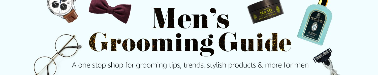 men's grooming guide, men's grooming tips