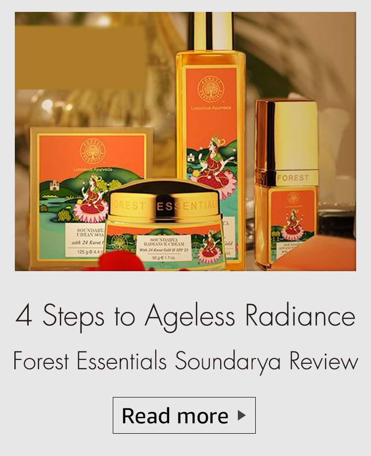 forest essentials soundarya range review