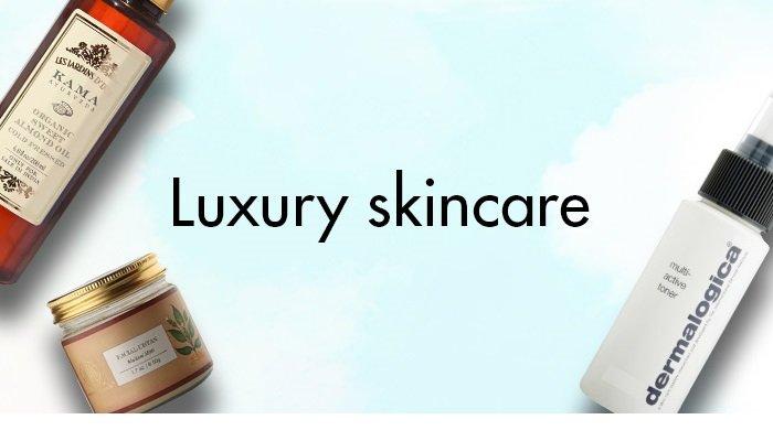 Luxury skincare
