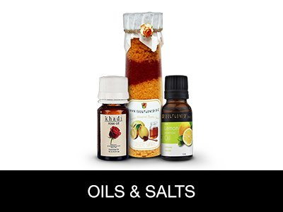 Bath oils & Salts