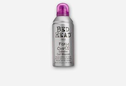 TIGI Bed Head Foxy Curls Extreme Curl Mousse 8.5 Ounce