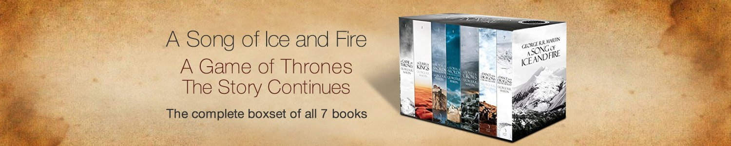 A Game OF Thrones Boxset