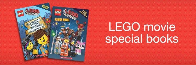 Lego movie special books