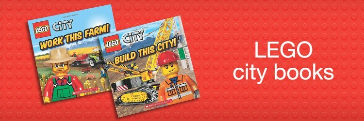 Lego city books