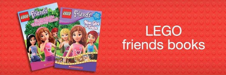 Lego friends books