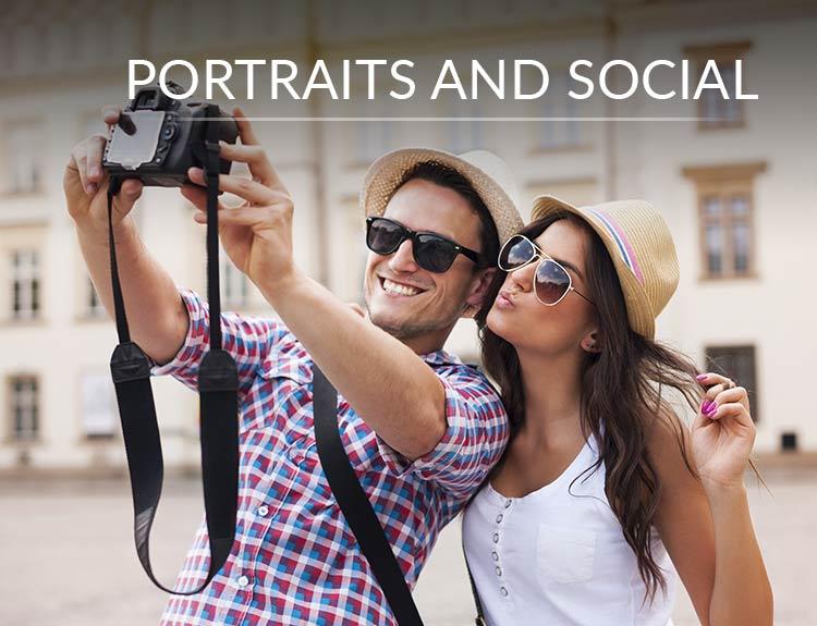 Portraits & Social