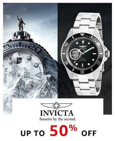 Invicta Up to 50% off