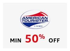 American Tourister Minimum 50% off