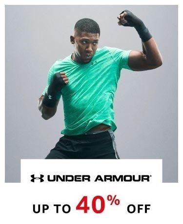 Under Armour Upto 40%