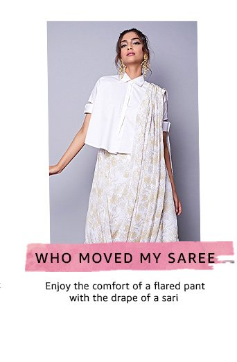 Who moved my Saree