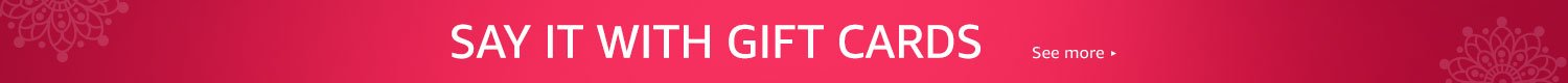 Say it with Gift Cards