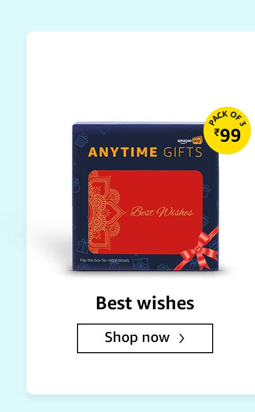 Best wishes pack of 3