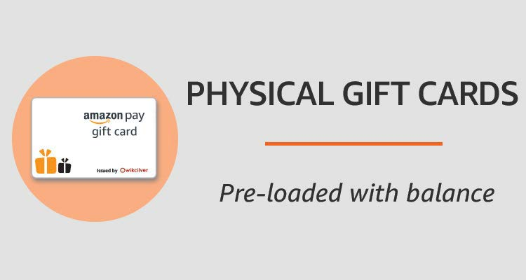 amazon.in - Physical gift cards starting at just ₹99