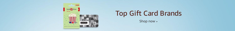 Top Gift Card Brands