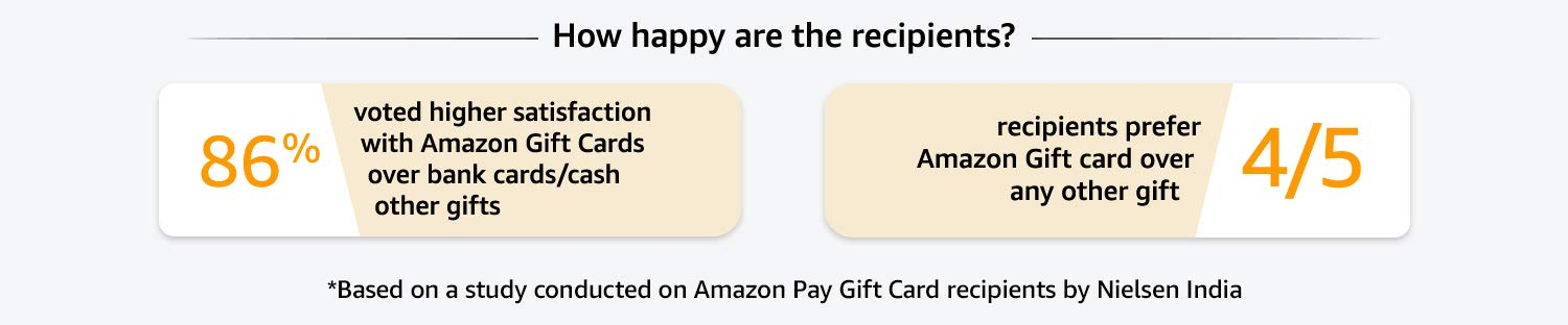 How happy are the recipients?