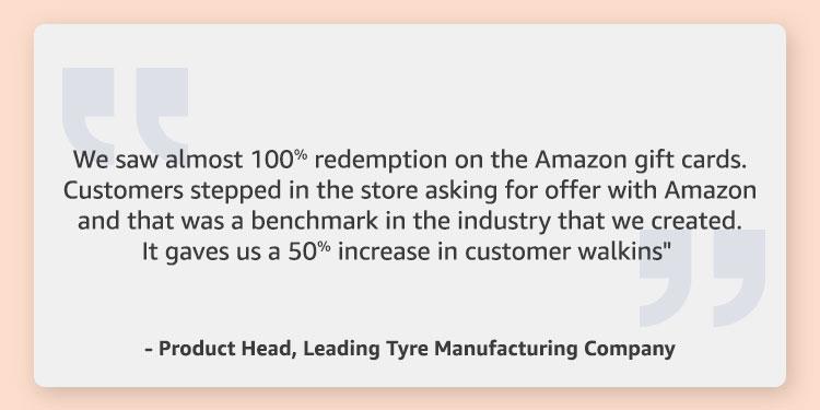 Customers speak