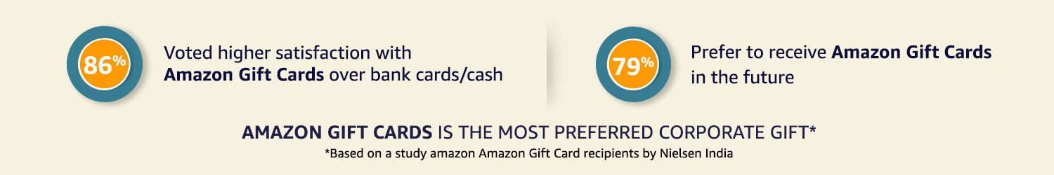 Amazon in: Gift Cards is the New Trend: Gift Cards