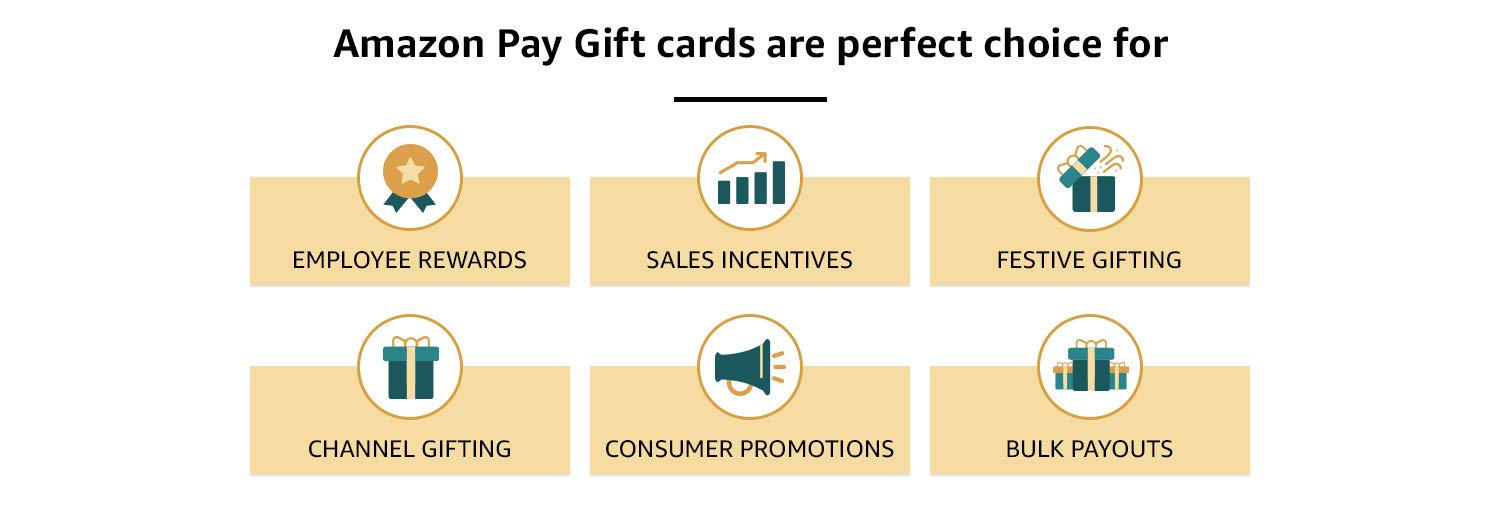 Amazon Pay Gift cards are perfect choice for