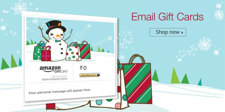 Christmas Gift Cards Vouchers Buy