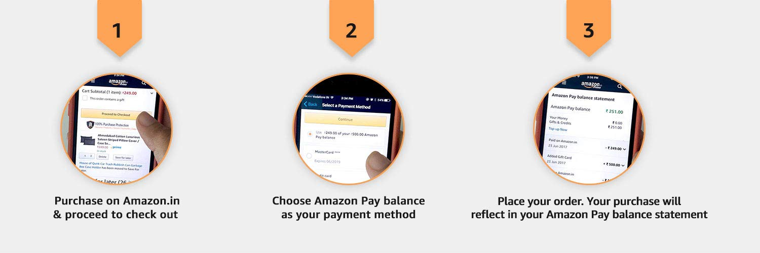 How to use Amazon Pay Gift Cards