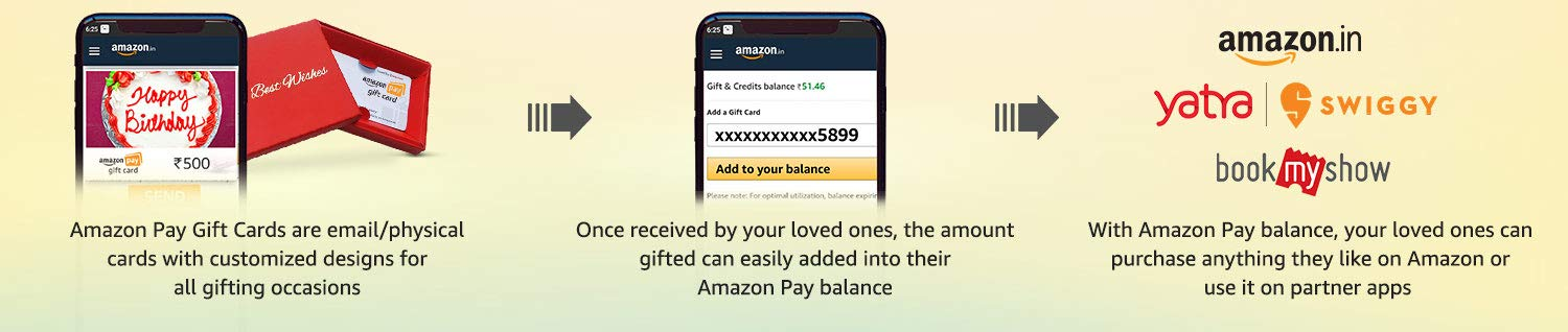 Amazon Pay Gift Cards