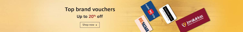 Top brand vouchers
