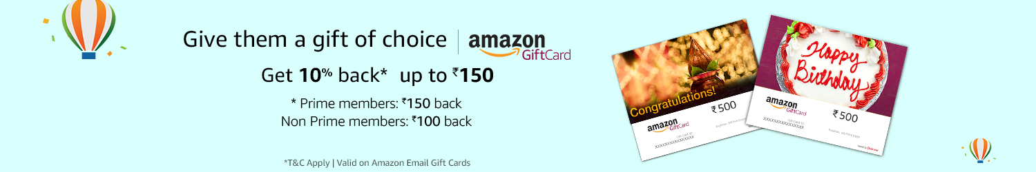 Get 10% back, Up to Rs.150