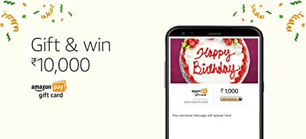 Gift and win Rs.10,000   Amazon Pay Gift Cards