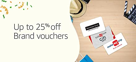 Up to 25% off | Brand vouchers