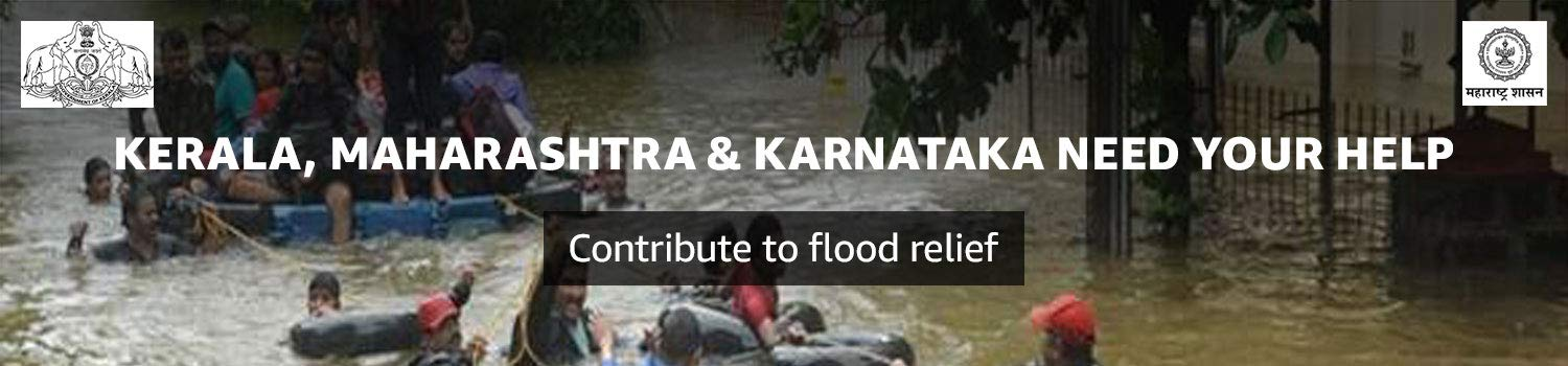 Contribute for flood relief in Kerala & Maharashtra