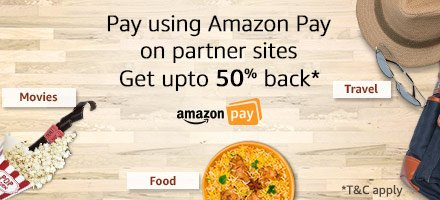 Use Amazon Pay on partnered websites & apps